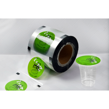 Customized Sealing Film Rolls For Plastic Cup Packing