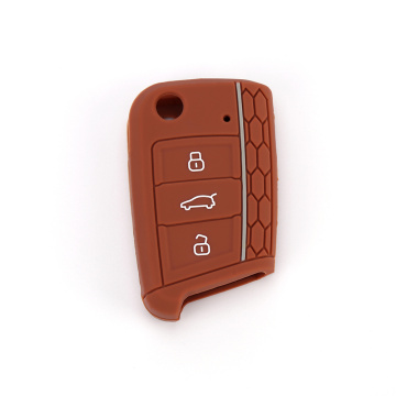 Silicone vw golf mk5 key fob shell