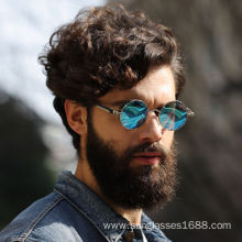Quality for China Classic Sunglass For Men, Cool Men'S Sunglass, New Retro Sunglasses Manufacturer and Supplier New Retro Polarized Steam Punk Round Sunglasses export to Montserrat Suppliers