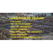 Hot selling attractive for Ocean Freight To Africa Guangxi Fangcheng Sea Freight to Cote d'Ivoire Abidjan supply to Spain Manufacturer