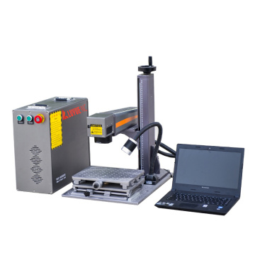 30W Metal Fiber Color Laser Marking Machine StainlessSteel