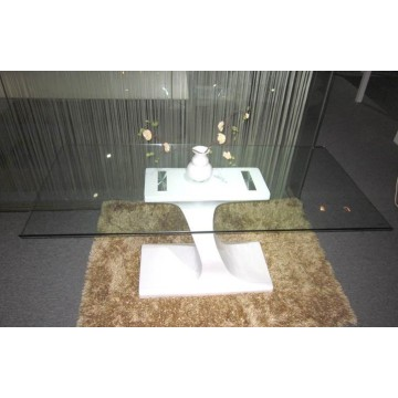 China Factory for Dining Table Modern white high gloss dining table export to Indonesia Suppliers
