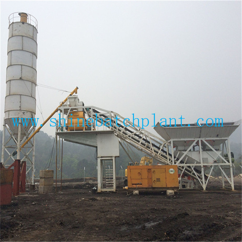 50 Mobile Concrete Batching Plants