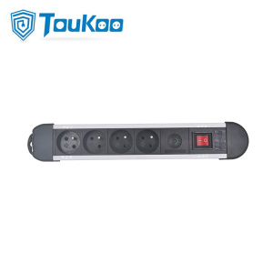 Discount Price for 4 Gang Power Strip French 4 way power strip with surge protector supply to Russian Federation Factories