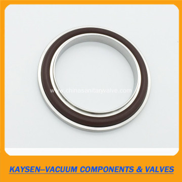 KF Centering Ring with viton Oring  and overpressure rings