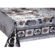 High definition Cheap Price for Double Face Silver Gold Tablecloth Double Face Emboss printed Gold Tablecloth blue export to India Supplier