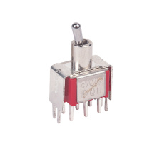 factory customized for Micro Toggle Switches Miniature SP DP 3P 4P Electrical Toggle Switch supply to India Factories