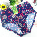 OEM wholesale China cheap sapphire sexy women printed flowers fancy underwear 5671