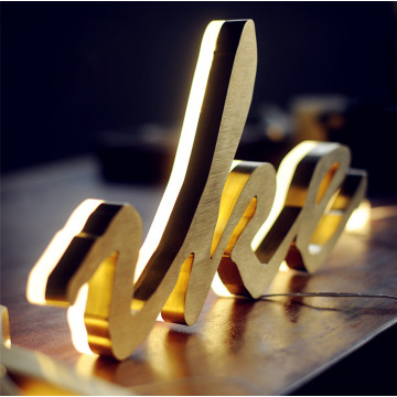 Custom LED 3D Channel Letter Signs