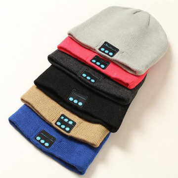 Leading for Wireless Bluetooth Headset Warm Wireless Earphone Music Beanie Hat Headphone export to Finland Supplier
