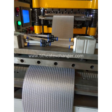 Heat Exchanger Fins Automatic Forming Machine