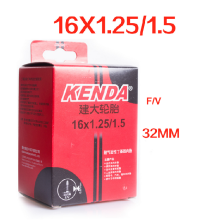 KENDA 16 inch FV bicycle bike inner tube