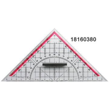 Triangle Ruler with Removable Handle
