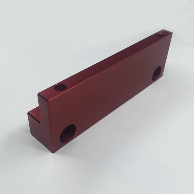 red anodized aluminum