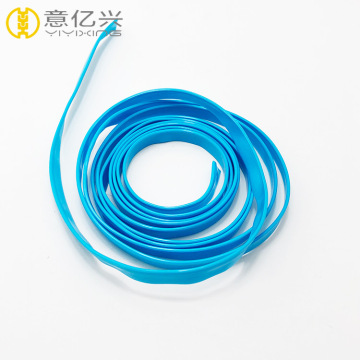 Transparent Clip PVC Zipper Roll