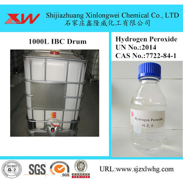 Hydrogen Peroxide Solution Used as Bleaching Agent