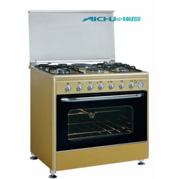 4 Burners Free standing oven convection