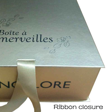 Custom Luxury Gold Cardboard Packaging