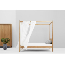 "China for Oak Wood Bed ""Seclusion"" Wooden Canopy Beds supply to China Hong Kong Manufacturers"