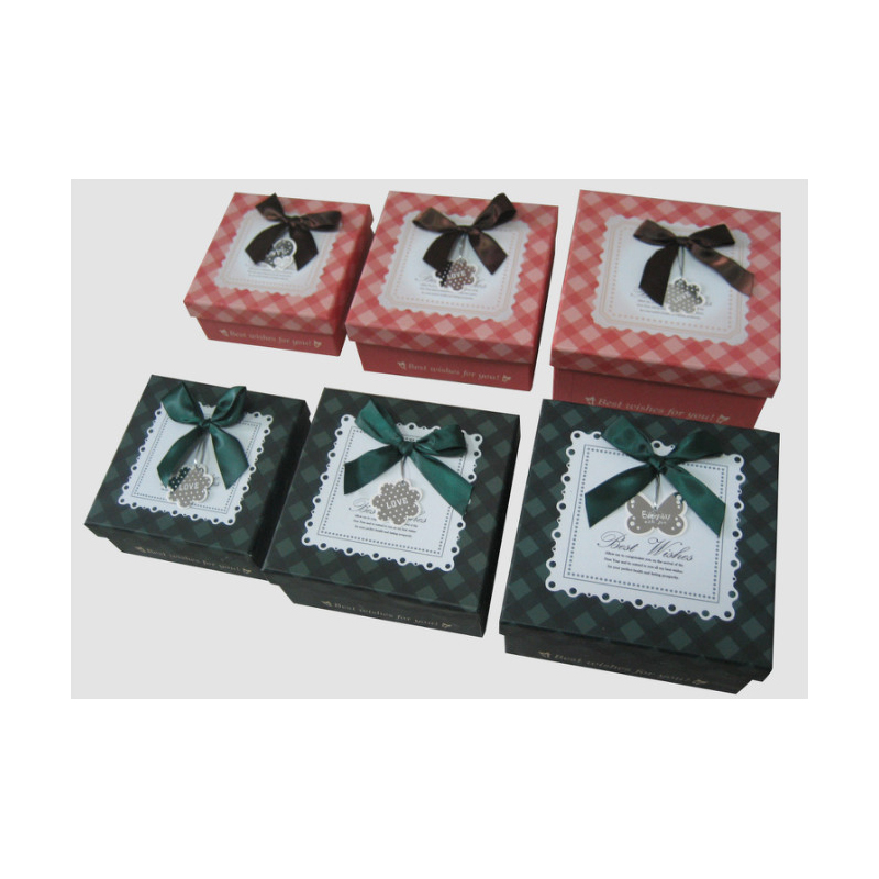 Flat Gift Boxes with Lids