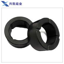 Ceramic bearing and shaft sleeve for centrifuges