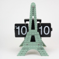 Eiffel Tower Clocks for Table Different Color