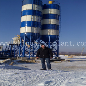 40 Concrete Mixer Batching Plant