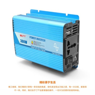 300 Watt Portable Pure Sine Wave Car Inverter