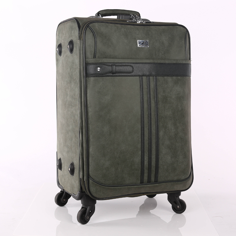 PU vintage luggage sets
