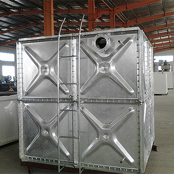 Galvanized Steel Panels Assembled Water Tank