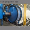 Pyrolysis waste tyre plastic to fuel oil machine