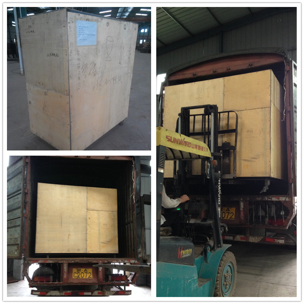 Copper wire granulator packing