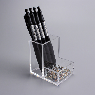 Clear Acrylic Pen Holder Display Organizer For Desk