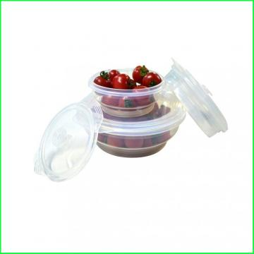 FDA&LFGB Approved Silicone Lunch Bowl