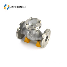 JKTLPC058 industrial inline forged steel flanged oil check valve