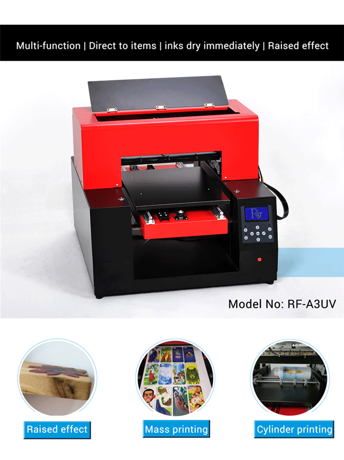 Desktop Uv Flatbed Printer