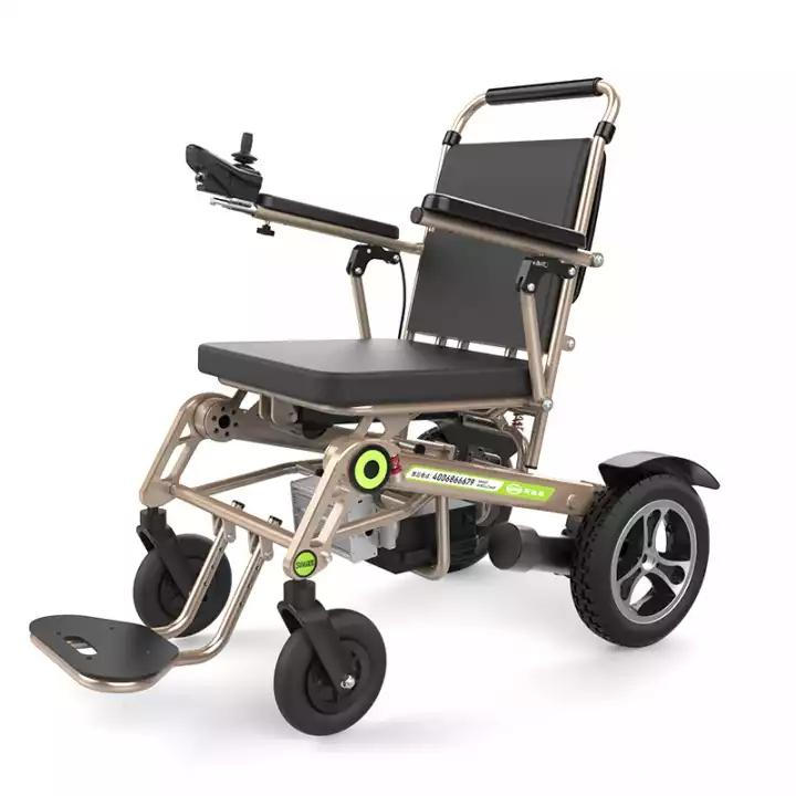 Fully automatic intelligent folding electric wheelchairs