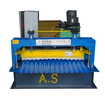 corrugated metal steel sheet rolling machine