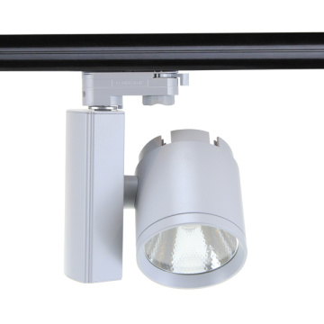 LED Track Light 30W Commercial Lighting Angle Adjustable