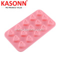15 Cavity Small Heart Candy Silikon Mold Pan