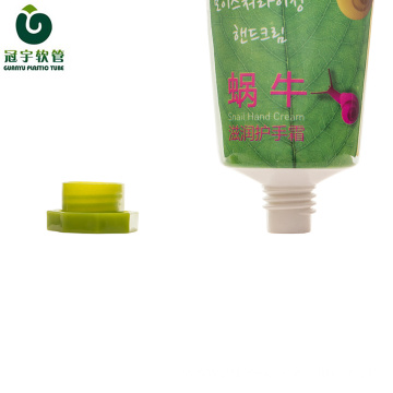 50g cosmetic aluminum-plastic tube for hand cream packaging