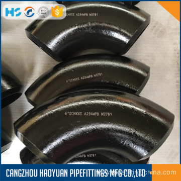 ANSI B16.9 A234WPB Carbon 90D Seamless Elbow