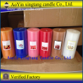 Multi-Colored 7.5*7.5 Pillar Candle for Wedding