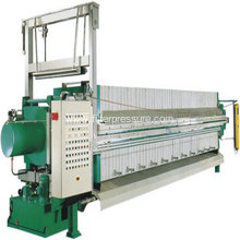100m² Edible Oil Plate Frame Filter Press Machine