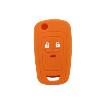 Chevrlet silicone key case 5 buttons with logo