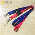 Custom printed LOGO 20mm Polyester Neck Lanyard Strap