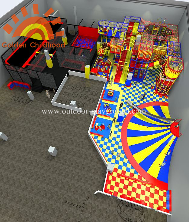 Indoor Playground And Trampoline Park
