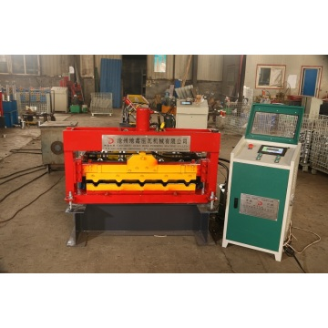 Hot selling arch steel roof sheet curving machine