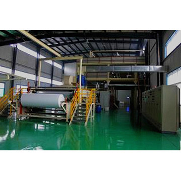 Eco-friendly non-woven fabric production line