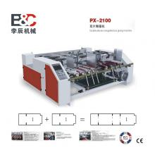 two sheet gluing machine